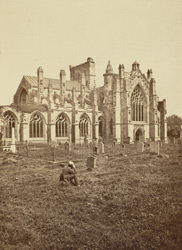 Melrose Abbey, From The South-West